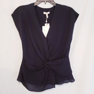Joie xs silk with lining blouse
